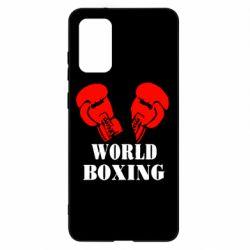 Чохол для Samsung S20+ World Boxing