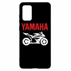 Чохол для Samsung S20+ Yamaha Bike