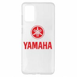 Чохол для Samsung S20+ Yamaha Logo(R+W)