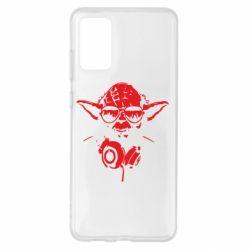Чохол для Samsung S20+ Yoda в навушниках