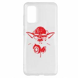 Чохол для Samsung S20 Yoda в навушниках