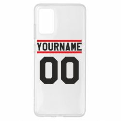 Чохол для Samsung S20+ Yourname USA