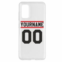 Чохол для Samsung S20 Yourname USA