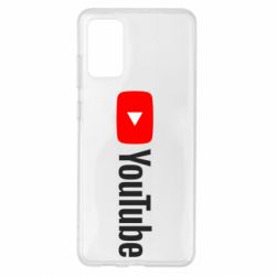 Чехол для Samsung S20+ Youtube logotype