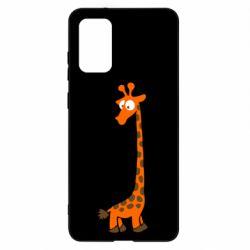 Чохол для Samsung S20+ Жираф