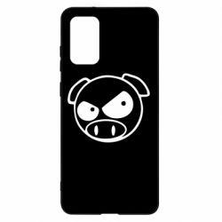 Чохол для Samsung S20+ Зла свинка