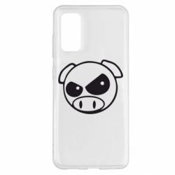 Чохол для Samsung S20 Зла свинка