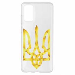 Чехол для Samsung S20+ Золотий герб