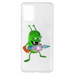 Чехол для Samsung S20+ Zombie catchers