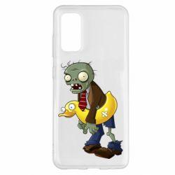 Чохол для Samsung S20 Zombie with a duck
