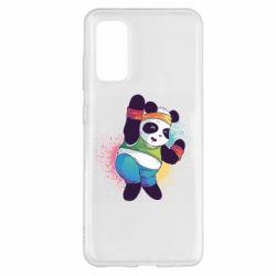 Чохол для Samsung S20 Zumba Panda