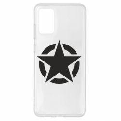 Чохол для Samsung S20+ Зірка Капітана Америки