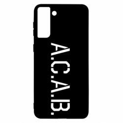 Чохол для Samsung S21+ A.C.A.B.