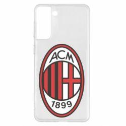 Чохол для Samsung S21+ AC Milan