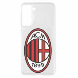 Чохол для Samsung S21 AC Milan