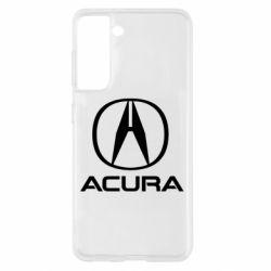 Чохол для Samsung S21 Acura logo 2