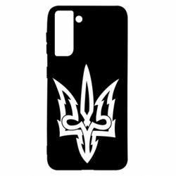 Чохол для Samsung S21 Acute coat of arms of Ukraine