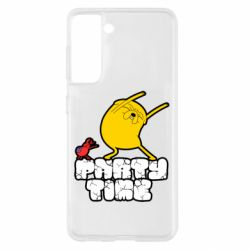 Чехол для Samsung S21 Adventure time 2