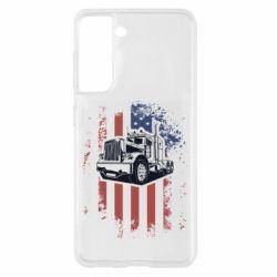 Чохол для Samsung S21 American Truck