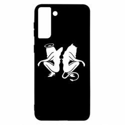 Чохол для Samsung S21+ Ангел і Демон