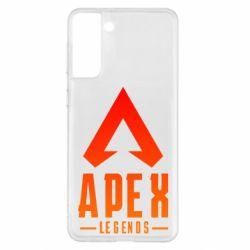 Чохол для Samsung S21+ Apex legends gradient logo