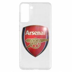 Чохол для Samsung S21+ Arsenal 3D