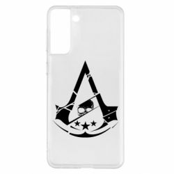 Чехол для Samsung S21+ Assassin's Creed and skull 1