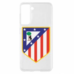Чехол для Samsung S21 Atletico Madrid