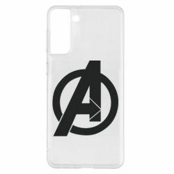 Чохол для Samsung S21+ Avengers logo