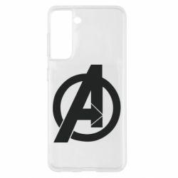 Чохол для Samsung S21 Avengers logo