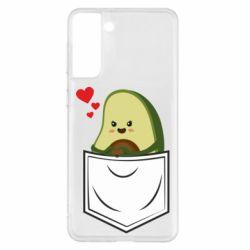 Чехол для Samsung S21+ Avocado in your pocket