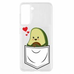 Чехол для Samsung S21 Avocado in your pocket