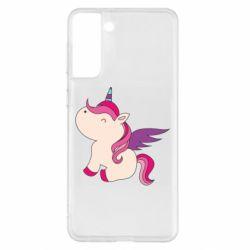 Чохол для Samsung S21+ Baby unicorn