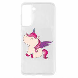 Чохол для Samsung S21 Baby unicorn