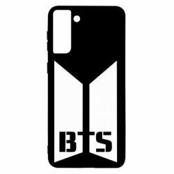 Чохол для Samsung S21+ Bangtan Boys double logo