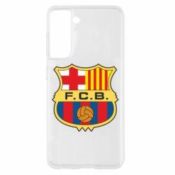 Чохол для Samsung S21 Barcelona