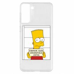 Чехол для Samsung S21+ Барт в тюряге