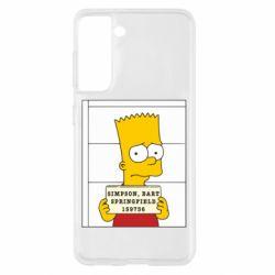 Чехол для Samsung S21 Барт в тюряге
