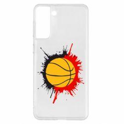 Чохол для Samsung S21+ Баскетбольний м'яч