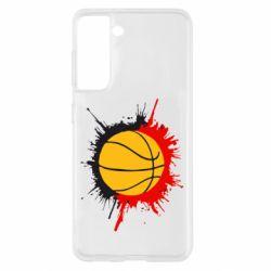 Чохол для Samsung S21 Баскетбольний м'яч