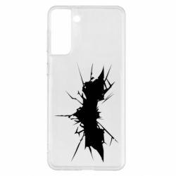 Чохол для Samsung S21+ Batman cracks