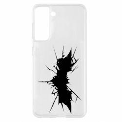 Чохол для Samsung S21 Batman cracks