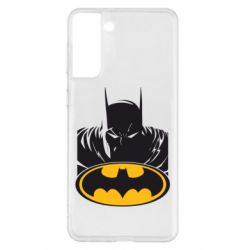 Чохол для Samsung S21+ Batman face