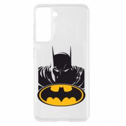 Чохол для Samsung S21 Batman face