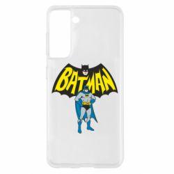 Чехол для Samsung S21 Batman Hero