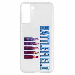 Чохол для Samsung S21+ Battlefield 5 bullets