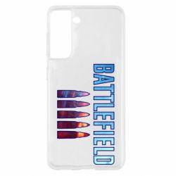 Чохол для Samsung S21 Battlefield 5 bullets