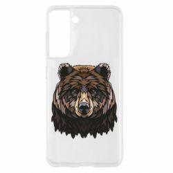 Чохол для Samsung S21 Bear graphic