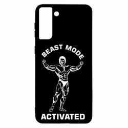 Чехол для Samsung S21+ Beast mode activated