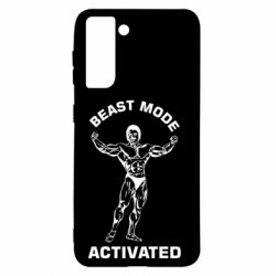 Чехол для Samsung S21 Beast mode activated